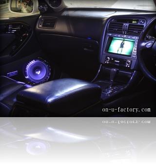トヨタ アリスト デモカー モニター&ドアスピーカー <京都カスタムカーオーディオ オンユーファクトリー>