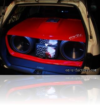ホンダ パートナーバン デモカー ドアスピーカー ラゲッジオーディオ<京都カスタム・カー・オーディオ オンユーファクトリー>