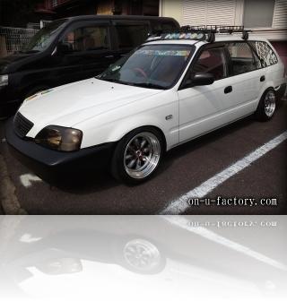 ホンダ パートナーバン デモカー フロント <京都カスタムカーオーディオ オンユーファクトリー>