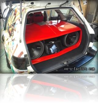 ホンダ パートナーバン デモカー ラゲッジスペース <京都カスタムカーオーディオ オンユーファクトリー>