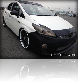 TOYOTA Prius トヨタ プリウス デモカー フロント <京都カスタム・カー・オーディオ オンユーファクトリー>