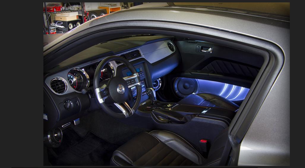 カスタム カー オーディオ オンユーファクトリー フォード マスタング Ford MUSTANG 運転席廻りスピーカー