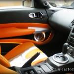 33Z ドアスピーカーインストール:5inchミッドバススピーカーバッフル製作(角度付き・こっち向きスピーカー) ドアトリム加工 アルミリング製作 塗装仕上げ <京都カスタムオーディオ オンユーファクトリー>