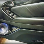 アリスト ドアスピーカーインストール:7inchミッドバススピーカーバッフル製作(角度付き) ドアトリム加工 塗装仕上げ <京都カスタムオーディオ オンユーファクトリー>