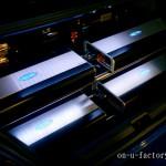 インプレッサ ラゲッジインストール:アンプラック(4機) サブウーファーボックス(1発) プロセッサー&キャパシター(4機)ボード LED電飾