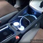 トヨタ アルファード・ベルファイア センターコンソールウーファーインストール: サブウーファーボックス(異形)/ LED仕上げ