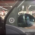 VW ゴルフ BEWITH コンフィデンス ツィーター ドア ミラー裏 埋め込み アルカンターラ仕上げ