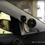 トヨタ WISH ピラー埋め込みツィーター:パイオニアカロッツェリア ツィーター&スコーカー