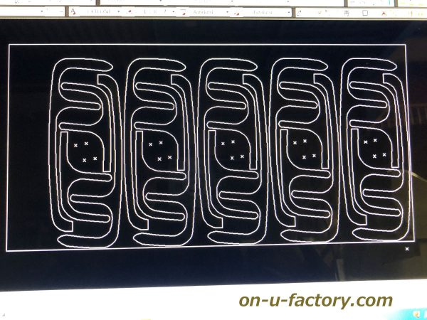 オンユーファクトリー onufactory サブウーファー サブウーハー バスレフ ポート ロックフォード フォーカル カーオーディオ カスタムカーオーディオ CAD図面 2