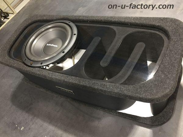 オンユーファクトリー onufactory サブウーファー サブウーハー バスレフ ポート ロックフォード フォーカル カーオーディオ カスタムカーオーディオ BOX 2