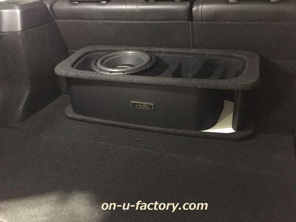 オンユーファクトリー onufactory サブウーファー サブウーハー バスレフ ポート ロックフォード フォーカル カーオーディオ カスタムカーオーディオ BOX 4