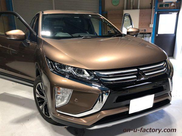 オンユーファクトリー onufactory 三菱エクリプスクロス アウターバッフル スラントバッフル 車