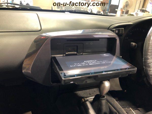 オンユーファクトリー onufactory フェイスパネル サイバーナビ 2din埋め込み加工 9型ナビ S2000 S2000ナビ