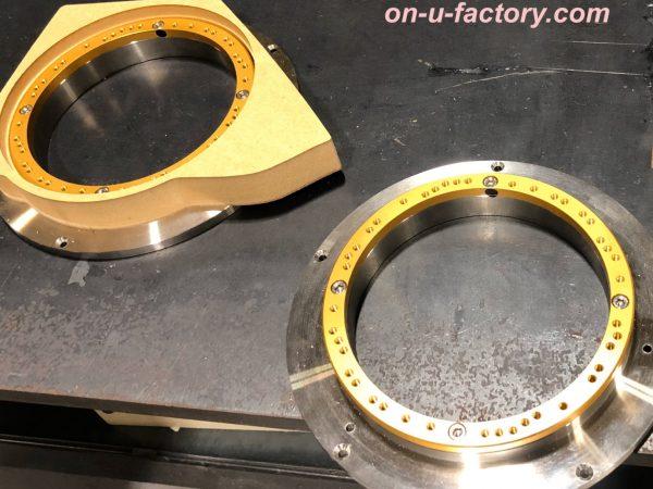 CX-8 オンユーファクトリー onufactory bluemoonaudio ブルームーンオーディオ JBL ESX AUDIO MASSIVE AUDIO ステンレスバッフル ステンバッフル アルミバッフル ハイブリッドバッフル PVCバッフル M&M  PCD-1