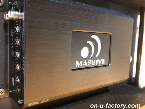 CX-8 オンユーファクトリー onufactory bluemoonaudio ブルームーンオーディオ JBL ESX AUDIO MASSIVE AUDIO AMP パワーアンプ アンプ BLUシリーズ BL1