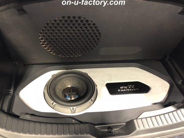 CX-8 オンユーファクトリー onufactory bluemoonaudio ブルームーンオーディオ JBL ESX AUDIO MASSIVE AUDIO JBL P1022 サブウーファー トランクウーファー サブウーファーボックス