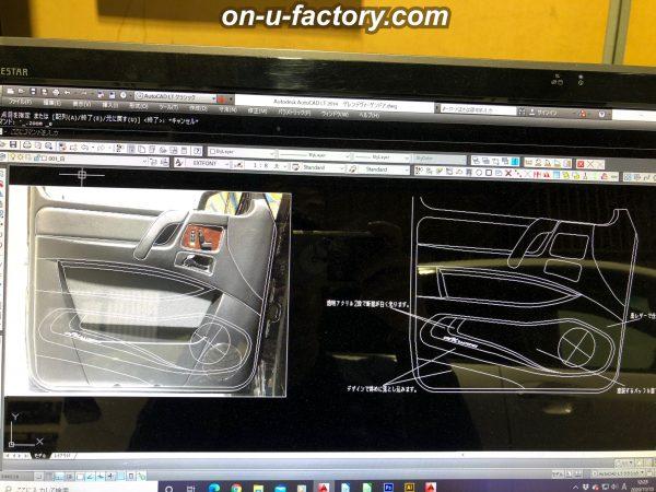 オンユーファクトリー onufactory フォーカル FOCAL ESXAUDIO アルパインBigX ALPINE アウターバッフル スラントバッフル  Aピラー加工 Aピラーツィーター埋め込み カスタムカーオーディオ オーディオカスタム オーディオインストール カーオーディオカスタム